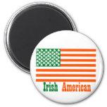 Americano irlandés imán