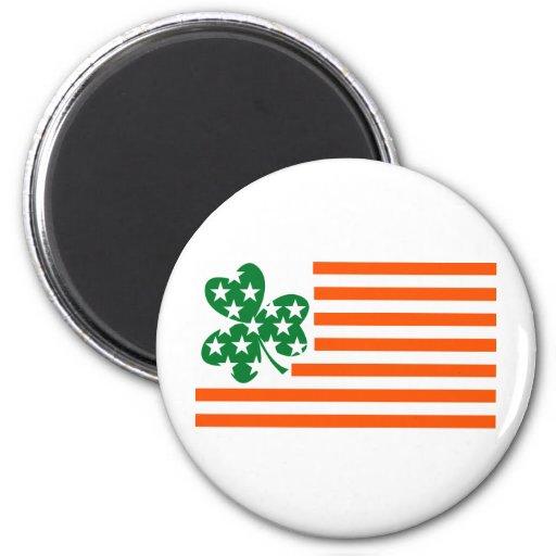 Americano irlandés iman de frigorífico