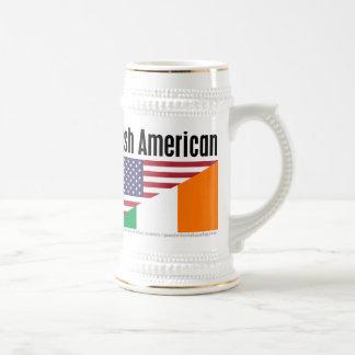 Americano irlandés jarra de cerveza