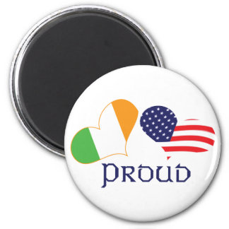 Americano irlandés orgulloso imán