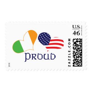Americano irlandés orgulloso