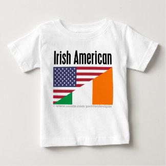 Americano irlandés playera para bebé