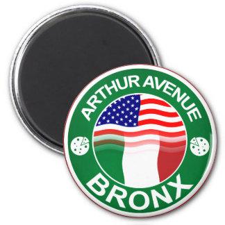 Americano italiano de la avenida Bronx de Arturo Imán Redondo 5 Cm