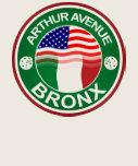Americano italiano de la avenida Bronx de Arturo Camiseta