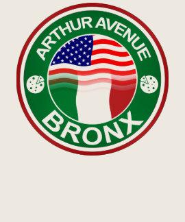 Americano italiano de la avenida Bronx de Arturo Camisetas
