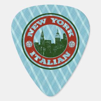 Americano italiano de Nueva York Púa De Guitarra