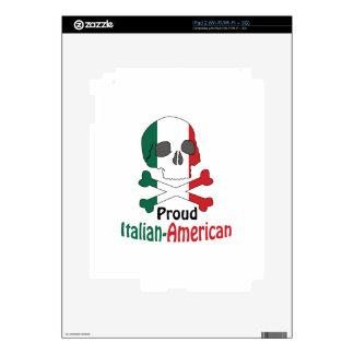 Americano italiano iPad 2 calcomanías
