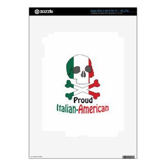 Americano italiano iPad 3 skins