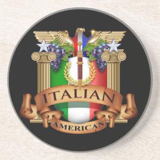 Americano italiano posavasos personalizados