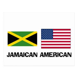 Americano jamaicano tarjetas postales