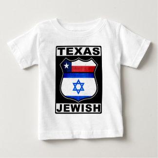Americano judío de Tejas Playera De Bebé
