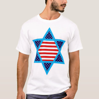 americano judío playera