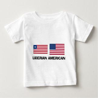 Americano liberiano playera de bebé