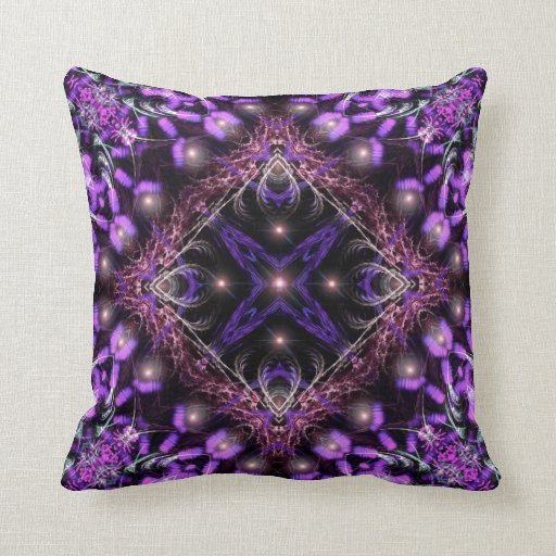 Americano ligero púrpura MoJo Pillo de la tapicerí Almohadas