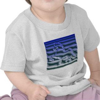 Americano llamativo Saddlebred Camisetas
