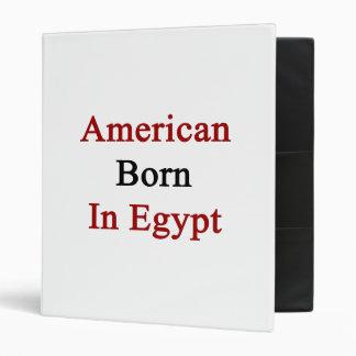 Americano llevado en Egipto