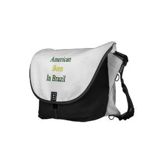 Americano llevado en el Brasil Bolsa De Mensajeria