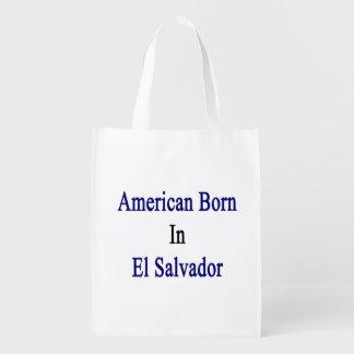 Americano llevado en El Salvador Bolsas Para La Compra