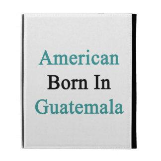 Americano llevado en Guatemala