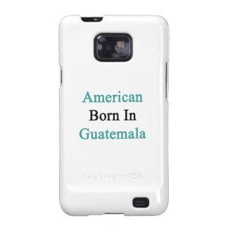 Americano llevado en Guatemala Samsung Galaxy S2 Fundas