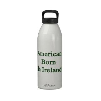 Americano llevado en Irlanda Botellas De Beber