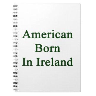 Americano llevado en Irlanda Libros De Apuntes