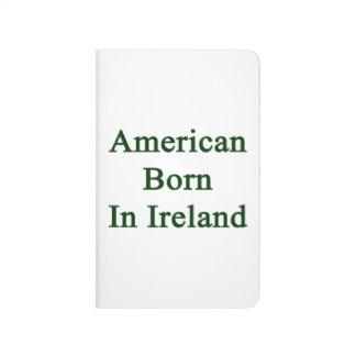 Americano llevado en Irlanda Cuaderno Grapado