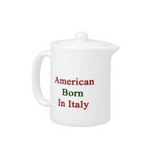 Americano llevado en Italia