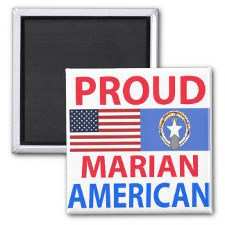 Americano mariano orgulloso imán