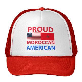 Americano marroquí orgulloso gorras