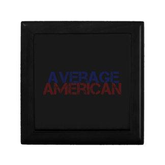 Americano medio cajas de regalo