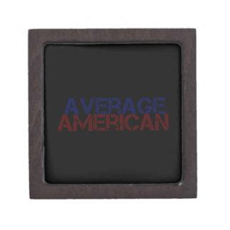 Americano medio caja de regalo de calidad