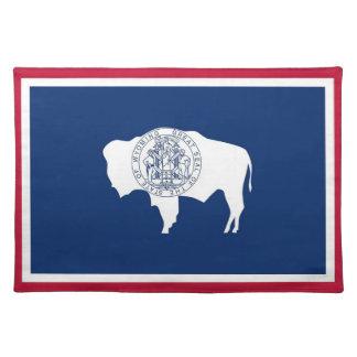 Americano MoJo Placemat de la bandera del estado d Mantel Individual