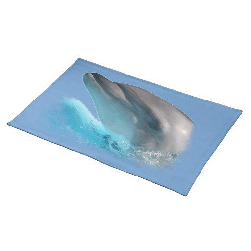 Americano MoJo Placemat de la nariz del delfín Mantel Individual