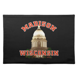 Americano MoJo Placemats de Madison Wisconsin Manteles