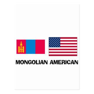 Americano mongol postales