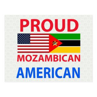 Americano mozambiqueño orgulloso tarjetas postales