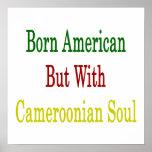 Americano nacido pero con alma camerunesa poster
