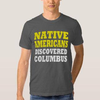 Americano nativo camisas