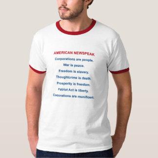 Americano Newspeak Playera