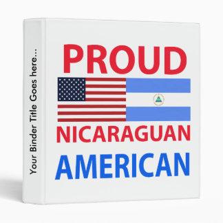 Americano nicaragüense orgulloso