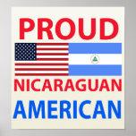 Americano nicaragüense orgulloso impresiones