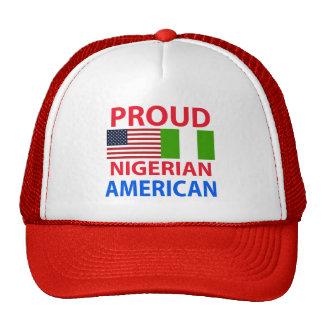 Americano nigeriano orgulloso gorro
