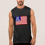 Americano Ninja Camisetas Sin Mangas