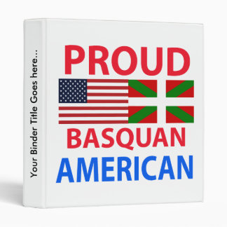 Americano orgulloso de Basquan