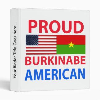 """Americano orgulloso de Burkinabe Carpeta 1"""""""