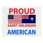Americano orgulloso de Helenian del santo Postal