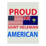 Americano orgulloso de Helenian del santo Postales