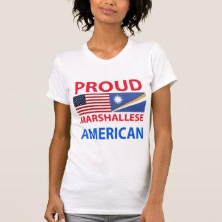 Americano orgulloso de Marshallese Playeras