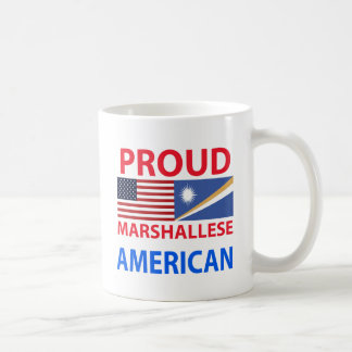 Americano orgulloso de Marshallese Taza